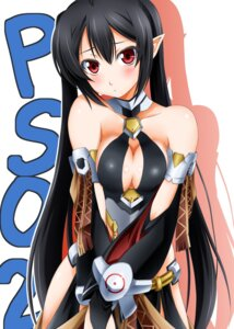 Rating: Safe Score: 37 Tags: cleavage elf phantasy_star_online pointy_ears sumeragi_tomo User: 椎名深夏