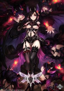 Rating: Safe Score: 64 Tags: animal_ears horns mabinogi no_bra olivia_(yh) stockings thighhighs underboob wings User: Mr_GT