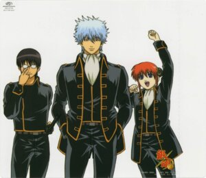Rating: Safe Score: 8 Tags: gintama kagura sakata_gintoki shimura_shinpachi User: Davison