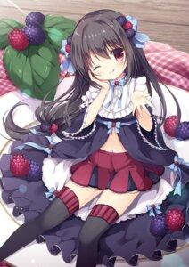 Rating: Safe Score: 30 Tags: blackberry-chan canvas+garden dress melonbooks miyasaka_nako thighhighs User: lightsnow