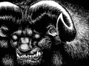 Rating: Safe Score: 6 Tags: berserk horns male monochrome monster tagme zodd User: Radioactive