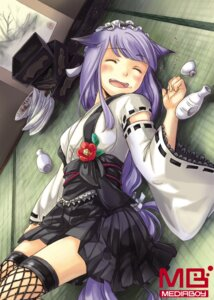 Rating: Safe Score: 8 Tags: animal_ears fishnets sake tagme tail thighhighs watermark User: petopeto