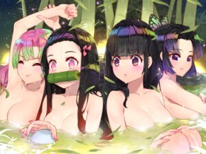 Rating: Questionable Score: 53 Tags: bathing kamado_nezuko kanroji_mitsuri kimetsu_no_yaiba kochou_shinobu onsen topless waterring wet User: Mr_GT