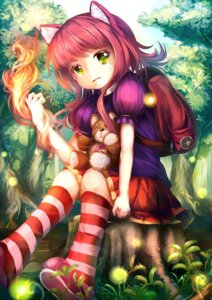 Rating: Safe Score: 22 Tags: animal_ears annie_hastur league_of_legends tagme User: 椎名深夏