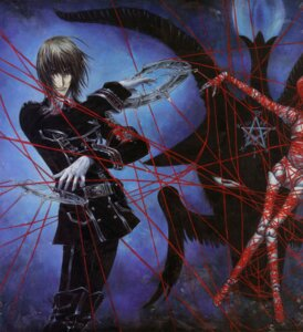 Rating: Safe Score: 5 Tags: bondage dietrich_von_lohengrin male thores_shibamoto trinity_blood User: Radioactive