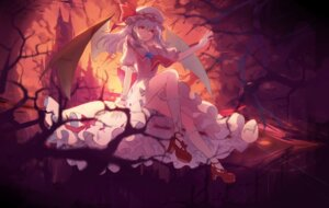 Rating: Safe Score: 38 Tags: baisi_shaonian dress heels remilia_scarlet touhou wings User: Mr_GT