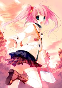 Rating: Safe Score: 50 Tags: futaori_arisa seifuku thighhighs User: blooregardo