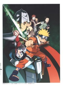Rating: Safe Score: 4 Tags: armor bike_shorts gaara haruno_sakura nara_shikamaru naruto nishio_tetsuya sword tattoo uzumaki_naruto weapon User: Radioactive