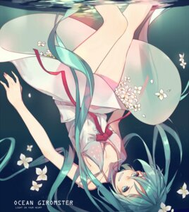 Rating: Safe Score: 35 Tags: bikini_top cleavage dress hatsune_miku ryuutsuki_basetsu see_through vocaloid wet User: charunetra