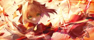 Rating: Safe Score: 29 Tags: fate/extella fate/grand_order fate/stay_night saber_extra saihate sword User: Mr_GT