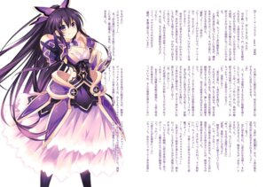 Rating: Safe Score: 34 Tags: armor cleavage date_a_live dress tsunako yatogami_tooka User: kiyoe