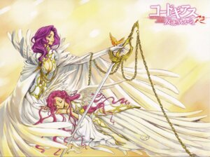 Rating: Safe Score: 22 Tags: clamp code_geass cornelia_li_britannia euphemia_li_britannia screening User: Aurelia