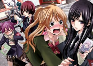 Rating: Safe Score: 18 Tags: aihara_mei aihara_yuzuko citrus_(manga) headphones saburouta seifuku sweater User: kiyoe