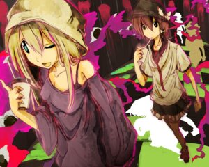 Rating: Safe Score: 6 Tags: maribel_han shinta touhou usami_renko User: charunetra