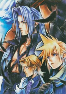 Rating: Safe Score: 14 Tags: angel cloud_strife crisis_core final_fantasy final_fantasy_vii lazard_deusericus male megane nomura_tetsuya sephiroth square_enix wings zack_fair User: Radioactive