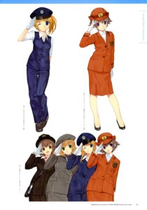 Rating: Safe Score: 3 Tags: kuji_alice kurihashi_minami mibu_natsuki shibusawa_asagi takano_miyuki tetsudou_musume User: fireattack