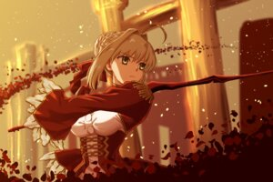 Rating: Safe Score: 26 Tags: dress fate/extra fate/grand_order fate/stay_night saber_extra sword tagme User: Nepcoheart