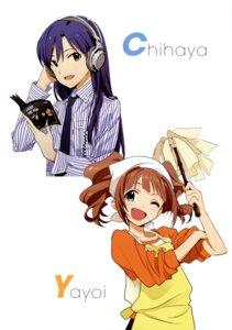 Rating: Safe Score: 28 Tags: headphones kisaragi_chihaya takatsuki_yayoi the_idolm@ster User: animeprincess