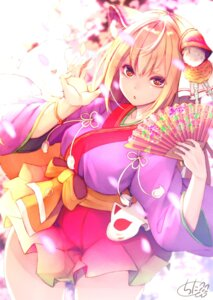 Rating: Safe Score: 18 Tags: animal_ears chita_(ketchup) japanese_clothes tail User: Mr_GT