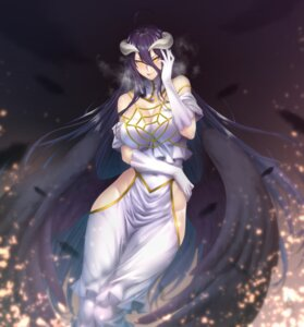 Rating: Questionable Score: 19 Tags: albedo_(overlord) cleavage horns no_bra nopan overlord wings zucchini User: Dreista