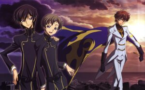 Rating: Safe Score: 8 Tags: code_geass ishida_kana kururugi_suzaku lelouch_lamperouge male rollo_lamperouge User: Aurelia
