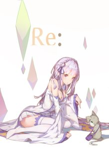Rating: Safe Score: 93 Tags: cleavage emilia_(re_zero) pack_(re_zero) re_zero_kara_hajimeru_isekai_seikatsu thighhighs zetlice User: Mr_GT