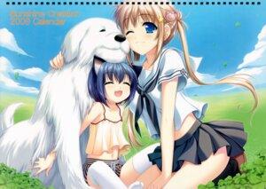 Rating: Safe Score: 20 Tags: alpha animal_ears calendar nekomimi seifuku User: midzki
