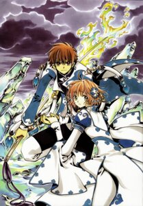 Rating: Safe Score: 16 Tags: clamp kinomoto_sakura li_syaoran tsubasa_reservoir_chronicle User: Radioactive