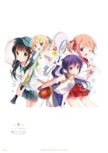 Rating: Safe Score: 7 Tags: gochuumon_wa_usagi_desu_ka? koi User: kiyoe