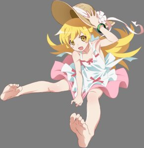 Rating: Safe Score: 75 Tags: bakemonogatari dress feet no_bra oshino_shinobu transparent_png User: TN