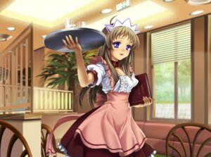 Rating: Safe Score: 21 Tags: clannad miyazawa_yukine moonknives waitress User: fireattack
