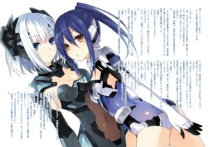 Rating: Questionable Score: 60 Tags: bodysuit date_a_live mecha_musume takamiya_mana tobiichi_origami tsunako User: h71337