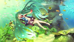 Rating: Safe Score: 15 Tags: furai hatsune_miku headphones vocaloid User: ddns001