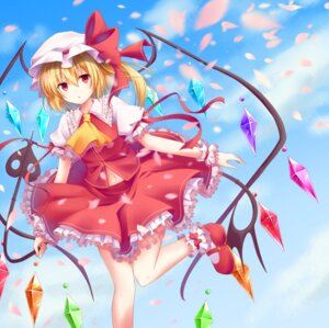 Rating: Safe Score: 39 Tags: dress flandre_scarlet kure~pu touhou wings User: KazukiNanako