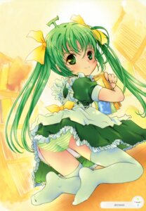 Rating: Questionable Score: 24 Tags: loli melon-chan melonbooks pantsu shiawase_1500 shimapan thighhighs User: syaoran-kun