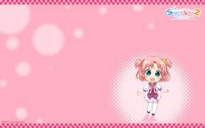 Rating: Safe Score: 6 Tags: amamoto_fuuka chibi ginta seifuku sugar+spice_2 thighhighs wallpaper User: girlcelly