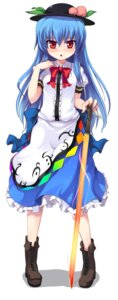 Rating: Safe Score: 15 Tags: hinanawi_tenshi mamo_williams touhou User: Radioactive