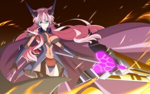 Rating: Safe Score: 18 Tags: bodysuit cleavage h-new maria_cadenzavuna_eve see_through senki_zesshou_symphogear senki_zesshou_symphogear_g wallpaper weapon User: WhiteExecutor