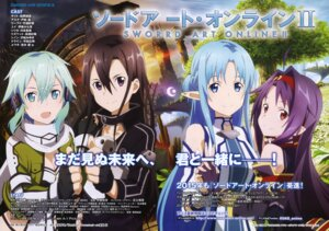Rating: Safe Score: 26 Tags: asuna_(sword_art_online) cleavage dress kirito konno_yuuki nishiguchi_tomoya pointy_ears sinon sword_art_online User: drop