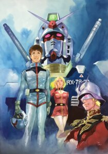 Rating: Safe Score: 7 Tags: amuro_ray char_aznable gundam mecha sayla_mass uniform yasuhiko_yoshikazu User: saemonnokami