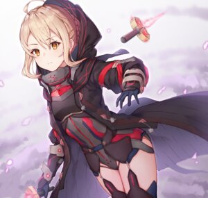 Rating: Safe Score: 36 Tags: armor black_cola fate/grand_order heroine_x_alter leotard stockings sword thighhighs User: Mr_GT