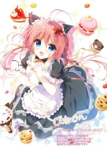 Rating: Safe Score: 21 Tags: animal_ears cream maid nekomimi yuzuna_hiyo User: BattlequeenYume
