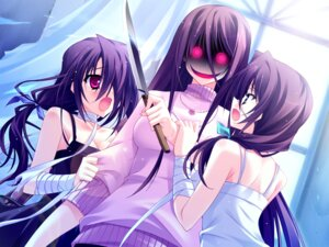 Rating: Questionable Score: 24 Tags: game_cg harukazedori_ni_tomarigi_wo_2nd_story hinata_mutsuki yandere User: Radioactive