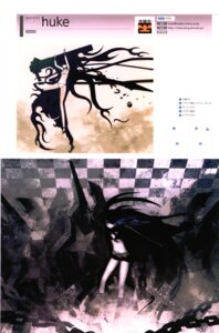 Rating: Safe Score: 10 Tags: black_rock_shooter black_rock_shooter_(character) huke vocaloid User: Radioactive