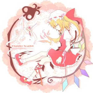 Rating: Safe Score: 14 Tags: flandre_scarlet munyunyu touhou wings User: Nekotsúh