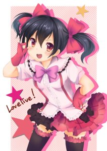 Rating: Safe Score: 30 Tags: garter love_live! thighhighs yazawa_nico ying_ye_mao User: animeprincess