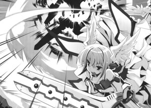 Rating: Safe Score: 8 Tags: monochrome sword tsurugi_hagane valkyrie_works User: akusiapa