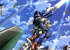 Rating: Safe Score: 9 Tags: gundam gundam_00 gundam_exia mecha sword weapon User: drop