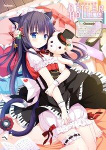 Rating: Safe Score: 49 Tags: animal_ears bloomers garter nekomimi shiwasu_horio tail User: 桃花庵の桃花
