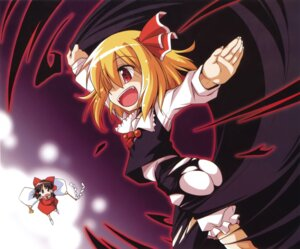 Rating: Safe Score: 5 Tags: hakurei_reimu nino_(ninouchiirazu) rumia touhou User: Share